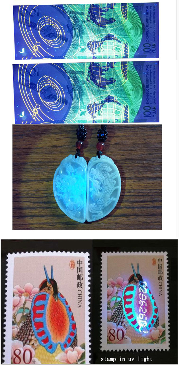 Fluorescence Detection for stamp