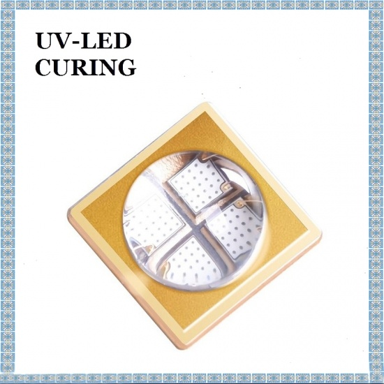 15W Korea LG fyra LED-chips UV-ficklampa UV LED-ljuspärlor 365nm